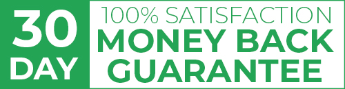 GUARANTEE - 30 Day - 100 Percent Satisfaction - Money Back Guarantee - 500w